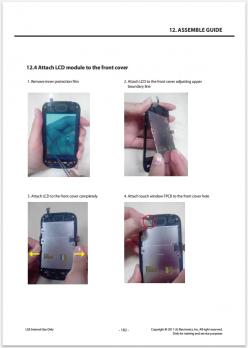 Сервисное Руководство LG P690 Optimus Link