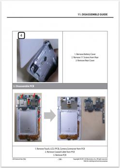 Сервисное Руководство LG D320 L70