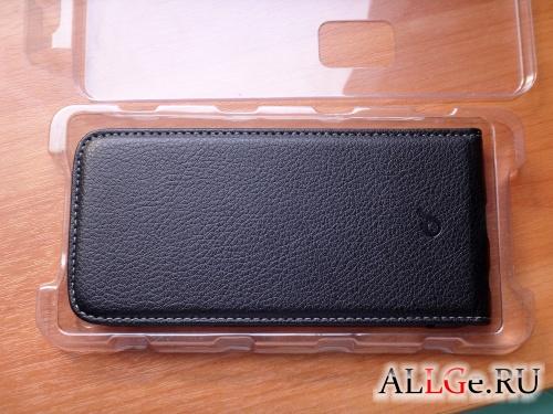 Чехол cellularline Flap Essential для Samsung Galaxy S6 (Чёрный)