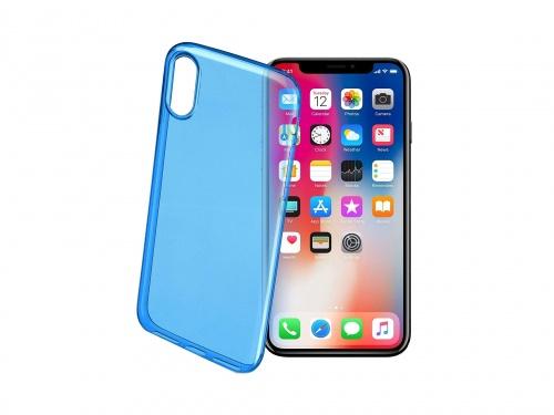 Чехол Cellular Line Deep Blue для iPhone X (Новый)