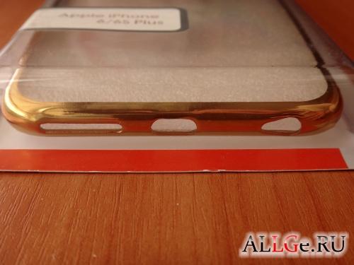 Клип-кейс InterStep Frame (Gold) для iPhone 6/6S Plus