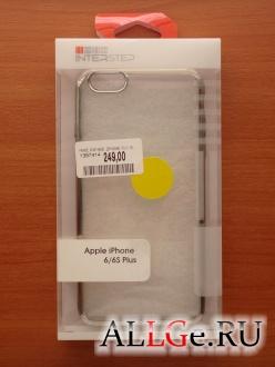 Чехол-бампер InterStep Frame (Silver) для iPhone 6 Plus и iPhone 6S Plus