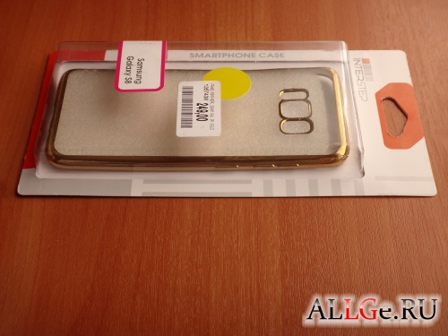 Чехол для Galaxy S8 Inter-Step Frame (Gold)