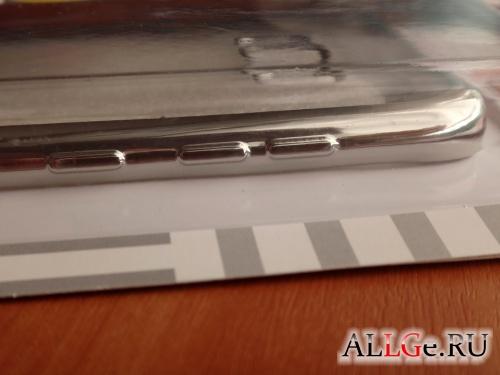 Чехол Inter-Step Frame для Galaxy S8+ (Silver)