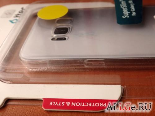 Прозрачный Чехол ttec Super Slim для Samsung Galaxy S8
