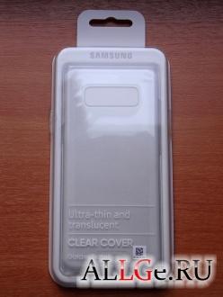 Чехол для Note 8 Samsung Clear Cover EF-QN950CTEGRU (Прозрачный)
