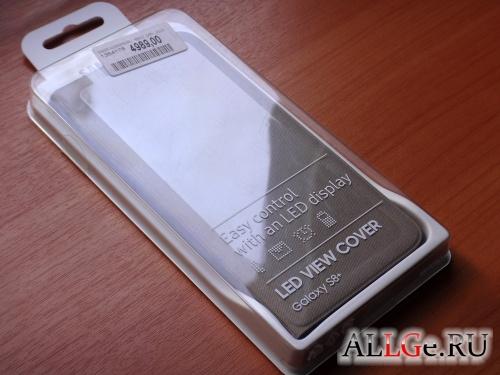 Чехол SAMSUNG LED View Cover Galaxy S8+