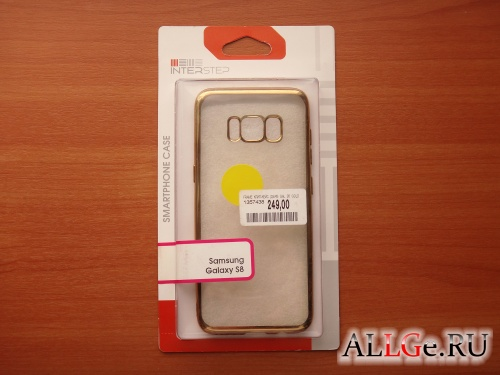 Чехол для Galaxy S8 Inter-Step Frame (Gold)