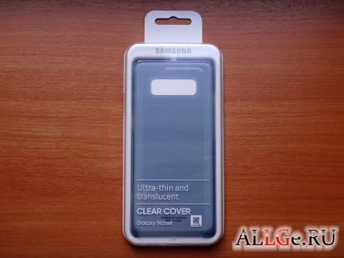 Клип-кейс Samsung Clear Cover EF-QN950CNEGRU (Deep Blue) для Galaxy Note 8